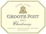 Groote Post Wooded Chardonnay 2001