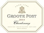 Groote Post Wooded Chardonnay 2003